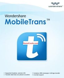 Wondershare MobileTrans 8.0.1 Crack + Registration Code [Latest]