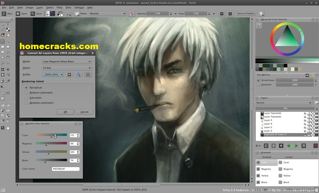 Krita 4.4.0 (64-bit) Crack With Activation Code 2020 Free Download
