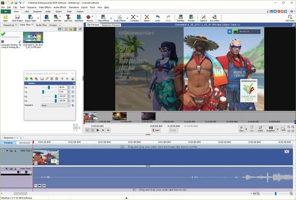 VideoPad Video Editor 10.18 Crack + License Code With Registration Code 2021